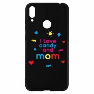 Etui na Huawei Y7 2019 I love candy and mom