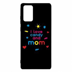 Etui na Samsung Note 20 I love candy and mom