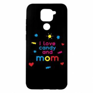 Etui na Xiaomi Redmi Note 9/Redmi 10X I love candy and mom