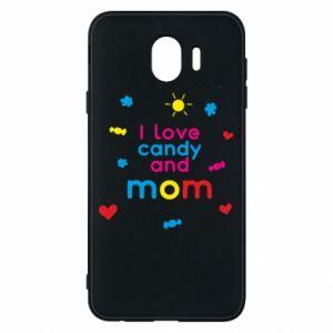 Etui na Samsung J4 I love candy and mom