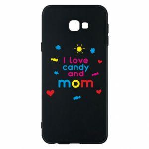 Etui na Samsung J4 Plus 2018 I love candy and mom