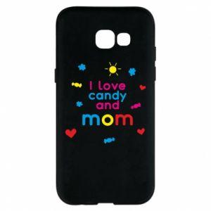 Etui na Samsung A5 2017 I love candy and mom
