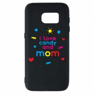 Etui na Samsung S7 I love candy and mom