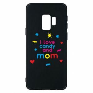 Etui na Samsung S9 I love candy and mom