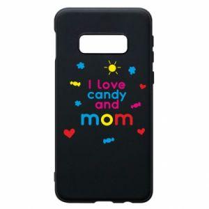 Etui na Samsung S10e I love candy and mom