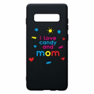 Etui na Samsung S10+ I love candy and mom
