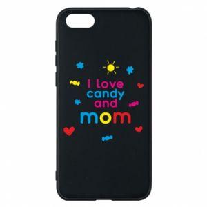 Etui na Huawei Y5 2018 I love candy and mom