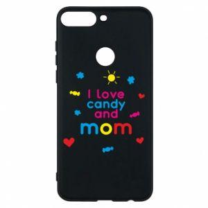 Etui na Huawei Y7 Prime 2018 I love candy and mom