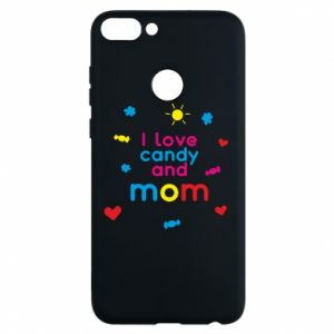 Etui na Huawei P Smart I love candy and mom