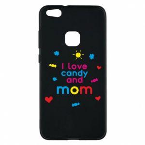 Etui na Huawei P10 Lite I love candy and mom