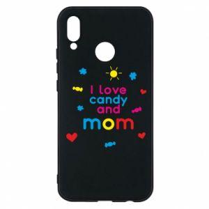 Etui na Huawei P20 Lite I love candy and mom