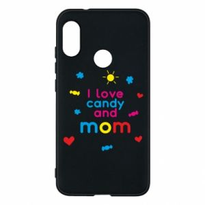 Etui na Mi A2 Lite I love candy and mom