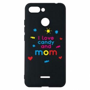 Etui na Xiaomi Redmi 6 I love candy and mom