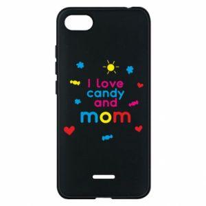 Etui na Xiaomi Redmi 6A I love candy and mom