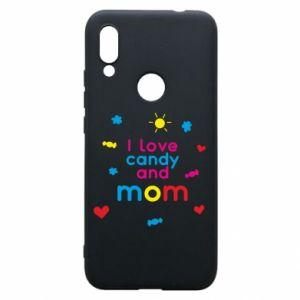 Etui na Xiaomi Redmi 7 I love candy and mom