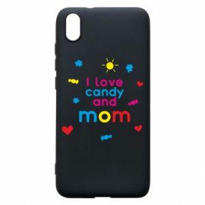 Etui na Xiaomi Redmi 7A I love candy and mom