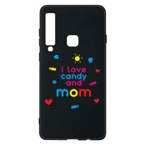 Etui na Samsung A9 2018 I love candy and mom