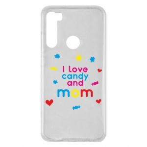 Etui na Xiaomi Redmi Note 8 I love candy and mom
