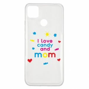 Etui na Xiaomi Redmi 9c I love candy and mom