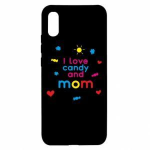 Etui na Xiaomi Redmi 9a I love candy and mom