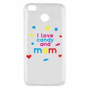Etui na Xiaomi Redmi 4X I love candy and mom
