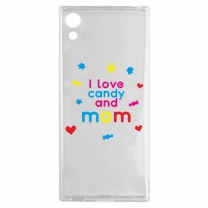 Etui na Sony Xperia XA1 I love candy and mom