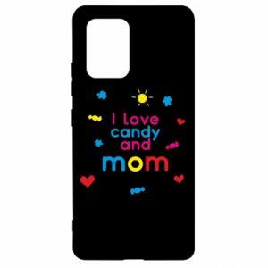 Etui na Samsung S10 Lite I love candy and mom