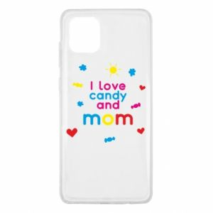 Etui na Samsung Note 10 Lite I love candy and mom