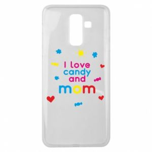 Etui na Samsung J8 2018 I love candy and mom