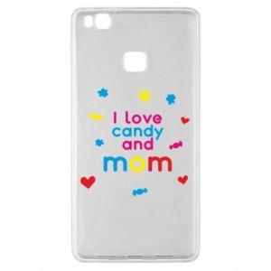 Etui na Huawei P9 Lite I love candy and mom
