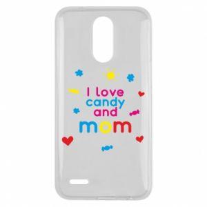 Etui na Lg K10 2017 I love candy and mom