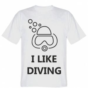 Koszulka I like diving