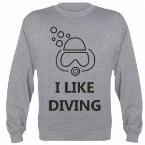 Bluza (raglan) I like diving