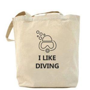 Torba I like diving