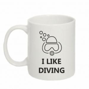 Kubek 330ml I like diving