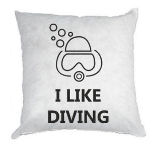 Poduszka I like diving