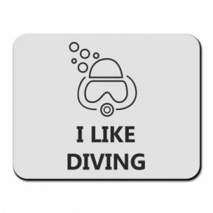 Podkładka pod mysz I like diving
