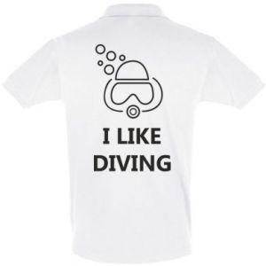 Koszulka Polo I like diving
