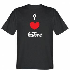 Koszulka I love haters
