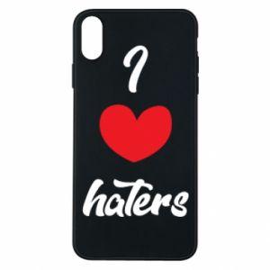 Etui na iPhone Xs Max I love haters