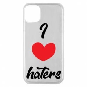Etui na iPhone 11 Pro I love haters