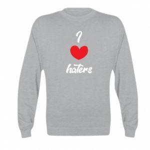 Bluza dziecięca I love haters