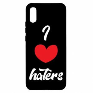 Etui na Xiaomi Redmi 9a I love haters