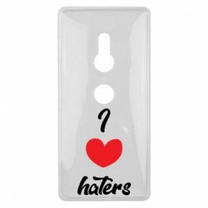 Etui na Sony Xperia XZ2 I love haters
