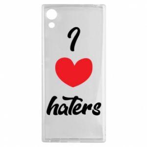 Etui na Sony Xperia XA1 I love haters