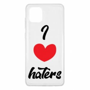 Etui na Samsung Note 10 Lite I love haters