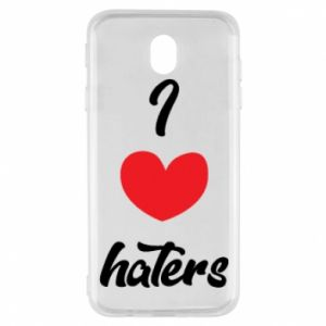 Etui na Samsung J7 2017 I love haters
