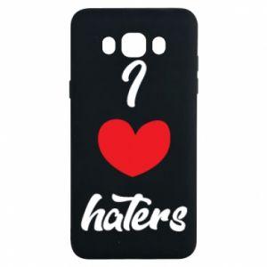 Etui na Samsung J7 2016 I love haters