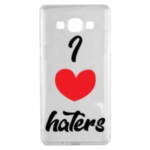 Etui na Samsung A5 2015 I love haters