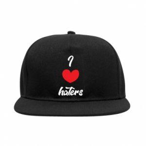 Snapback I love haters
